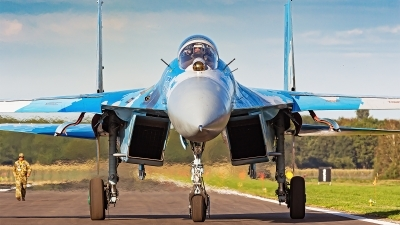 Photo ID 235296 by Louis Kieper. Ukraine Air Force Sukhoi Su 27P1M,