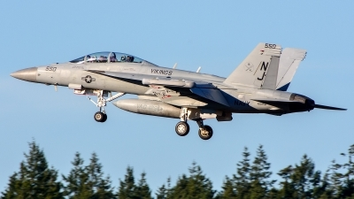 Photo ID 235522 by Mark Munzel. USA Navy Boeing EA 18G Growler, 166858