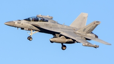 Photo ID 235524 by Mark Munzel. USA Navy Boeing EA 18G Growler, 168272