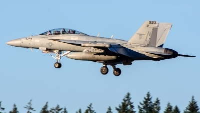 Photo ID 235525 by Mark Munzel. USA Navy Boeing EA 18G Growler, 168935