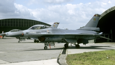 Photo ID 235550 by Joop de Groot. Belgium Air Force General Dynamics F 16A Fighting Falcon, FA 19