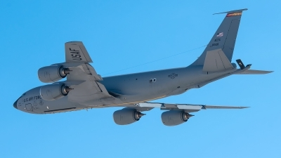 Photo ID 235570 by W.A.Kazior. USA Air Force Boeing KC 135R Stratotanker 717 100, 58 0128