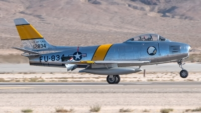 Photo ID 235635 by W.A.Kazior. Private Planes of Fame Air Museum North American F 86F Sabre, NX186AM