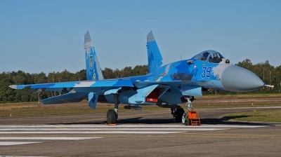 Photo ID 235605 by huelsmann heinz. Ukraine Air Force Sukhoi Su 27S, 39 BLUE