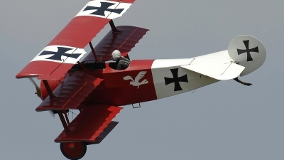 Photo ID 235755 by Aldo Bidini. Private Private Fokker Dr 1 Triplane Replica, F AZAQ