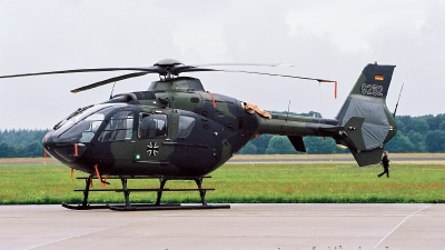 Photo ID 235823 by Jan Eenling. Germany Army Eurocopter EC 135T1, 82 52