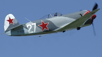 Photo ID 235857 by Aldo Bidini. Private Private Yakovlev Yak 3U, F AZIM