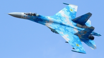 Photo ID 235850 by Maurice Kockro. Ukraine Air Force Sukhoi Su 27P1M,