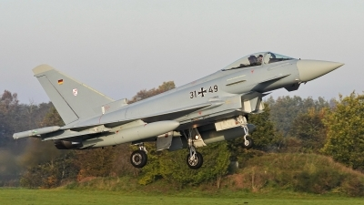 Photo ID 235855 by Dieter Linemann. Germany Air Force Eurofighter EF 2000 Typhoon S, 31 49