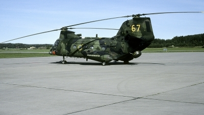 Photo ID 236120 by Joop de Groot. Sweden Armed Forces Boeing Vertol Kawasaki Hkp4C 107 II 16, 04067