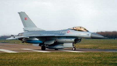 Photo ID 236071 by Jan Eenling. Denmark Air Force General Dynamics F 16A Fighting Falcon, E 609