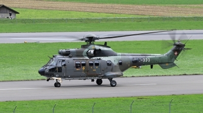 Photo ID 236139 by Milos Ruza. Switzerland Air Force Aerospatiale AS 532UL Cougar, T 333