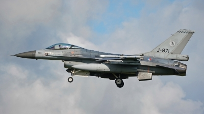Photo ID 236152 by Dieter Linemann. Netherlands Air Force General Dynamics F 16AM Fighting Falcon, J 871