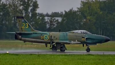 Photo ID 237187 by Radim Spalek. Private Swedish Air Force Historic Flight Saab J32B Lansen, SE RMD