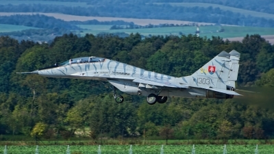 Photo ID 236245 by Radim Spalek. Slovakia Air Force Mikoyan Gurevich MiG 29UBS 9 51, 1303
