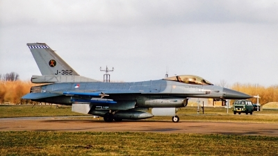 Photo ID 236301 by Jan Eenling. Netherlands Air Force General Dynamics F 16A Fighting Falcon, J 362