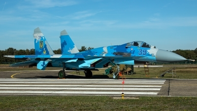 Photo ID 236419 by Thomas Ziegler - Aviation-Media. Ukraine Air Force Sukhoi Su 27S, 39 BLUE