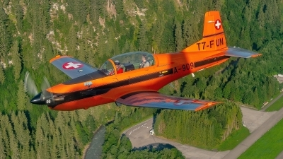Photo ID 236402 by Martin Thoeni - Powerplanes. Private Fliegermuseum Altenrhein Pilatus PC 7 Turbo Trainer, T7 FUN