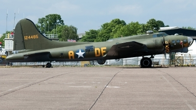 Photo ID 236434 by Aldo Bidini. Private B 17 Preservation Ltd Boeing B 17G Flying Fortress 299P, G BEDF