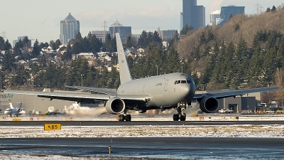 Photo ID 236526 by Aaron C. Rhodes. USA Air Force Boeing KC 46A Pegasus 767 200LRF, 17 46025