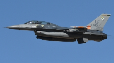 Photo ID 236537 by Hans-Werner Klein. USA Air Force General Dynamics F 16D Fighting Falcon, 88 0163