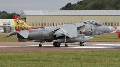 Photo ID 236551 by Paul Newbold. Spain Navy McDonnell Douglas EAV 8B Harrier II, VA 1B 37
