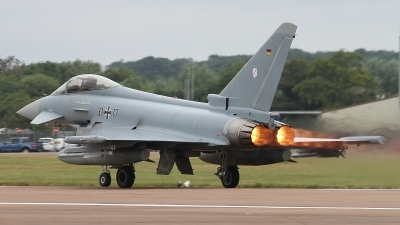 Photo ID 236579 by Paul Newbold. Germany Air Force Eurofighter EF 2000 Typhoon S, 31 17