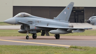 Photo ID 236609 by Paul Newbold. Germany Air Force Eurofighter EF 2000 Typhoon S, 31 17