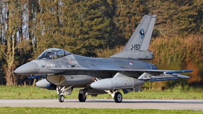 Photo ID 236598 by Dieter Linemann. Netherlands Air Force General Dynamics F 16AM Fighting Falcon, J 197