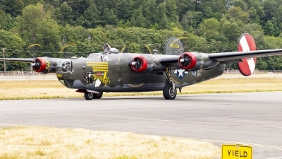 Photo ID 237199 by Aaron C. Rhodes. Private Collings Foundation Consolidated B 24J Liberator, N224J