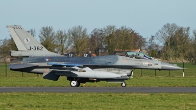 Photo ID 236663 by Dieter Linemann. Netherlands Air Force General Dynamics F 16A Fighting Falcon, J 362