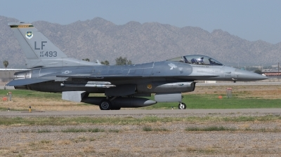 Photo ID 236720 by Hans-Werner Klein. USA Air Force General Dynamics F 16C Fighting Falcon, 88 0493