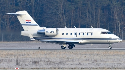 Photo ID 236772 by Günther Feniuk. Croatia Government Canadair CL 600 2B16 Challenger 604, 9A CRO
