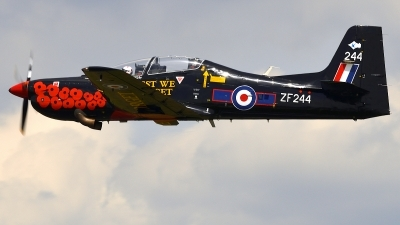 Photo ID 236751 by Günther Feniuk. UK Air Force Short Tucano T1, ZF244