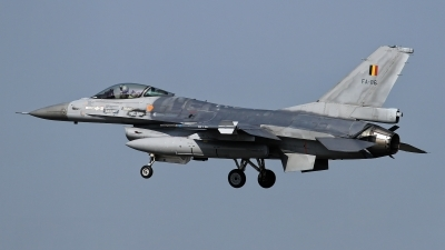 Photo ID 236789 by Rainer Mueller. Belgium Air Force General Dynamics F 16A Fighting Falcon, FA 86