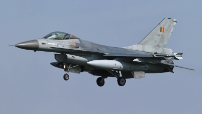 Photo ID 236796 by Rainer Mueller. Belgium Air Force General Dynamics F 16AM Fighting Falcon, FA 77