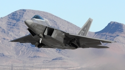 Photo ID 26733 by Simon Gregory - AirTeamImages. USA Air Force Lockheed Martin F 22A Raptor, 00 4012