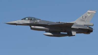 Photo ID 236820 by Hans-Werner Klein. USA Air Force General Dynamics F 16A Fighting Falcon, 93 0816