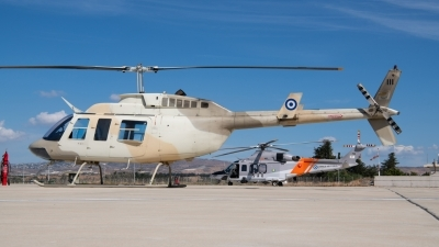 Photo ID 236825 by Neil Dunridge. Cyprus Air Force Bell 206L 3 LongRanger III, 111