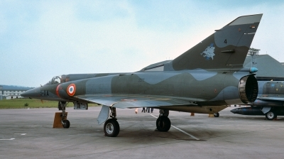 Photo ID 236973 by Alex Staruszkiewicz. France Air Force Dassault Mirage 5F, 4