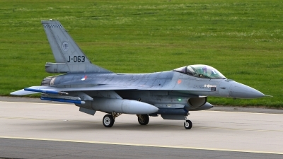 Photo ID 237089 by Stephan Franke - Fighter-Wings. Netherlands Air Force General Dynamics F 16A Fighting Falcon, J 063