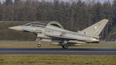 Photo ID 237124 by Frank Kloppenburg. Germany Air Force Eurofighter EF 2000 Typhoon T, 30 71