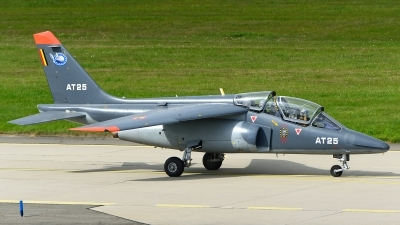 Photo ID 237128 by Stephan Franke - Fighter-Wings. Belgium Air Force Dassault Dornier Alpha Jet 1B, AT25