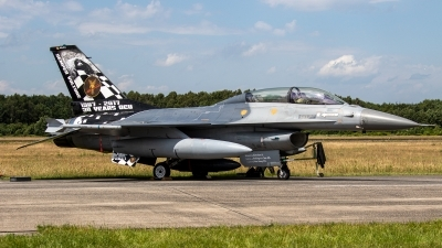 Photo ID 237137 by Jan Eenling. Belgium Air Force General Dynamics F 16BM Fighting Falcon, FB 24