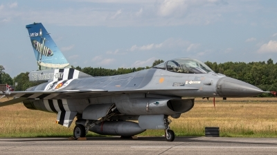 Photo ID 237138 by Jan Eenling. Belgium Air Force General Dynamics F 16AM Fighting Falcon, FA 124
