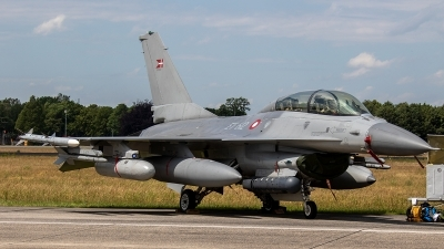 Photo ID 237140 by Jan Eenling. Denmark Air Force General Dynamics F 16BM Fighting Falcon, ET 612