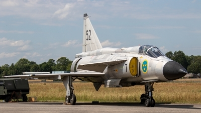 Photo ID 237176 by Jan Eenling. Private Swedish Air Force Historic Flight Saab AJS37 Viggen, SE DXN
