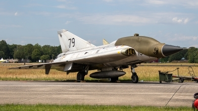 Photo ID 237209 by Jan Eenling. Private Swedish Air Force Historic Flight Saab Sk35C Draken, SE DXP