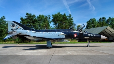 Photo ID 237202 by Alex Staruszkiewicz. Germany Air Force McDonnell Douglas F 4F Phantom II, 38 37