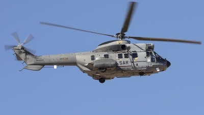 Photo ID 237201 by F. Javier Sánchez Gómez. Spain Air Force Aerospatiale AS 332C1e Super Puma, HD 21 16